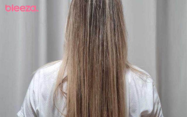 cabelo antes de aplicar cápsula elséve