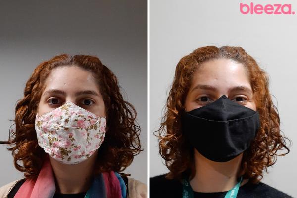 Antes e depois Bruna Ampola pantene pro-V